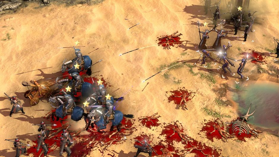 Picture of a battlefield in Conan Unconquered