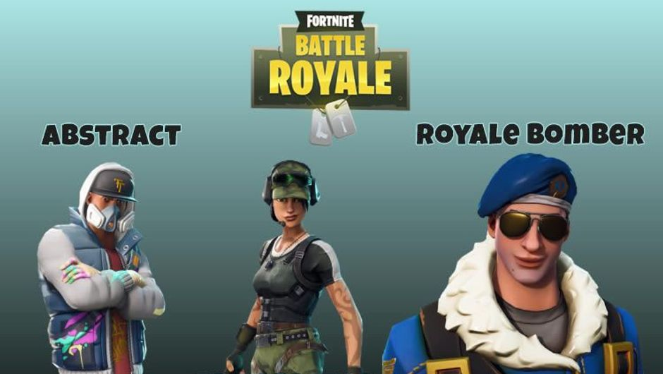 Three leaked Fortnite Battle Royale skins from patch v4.0.0