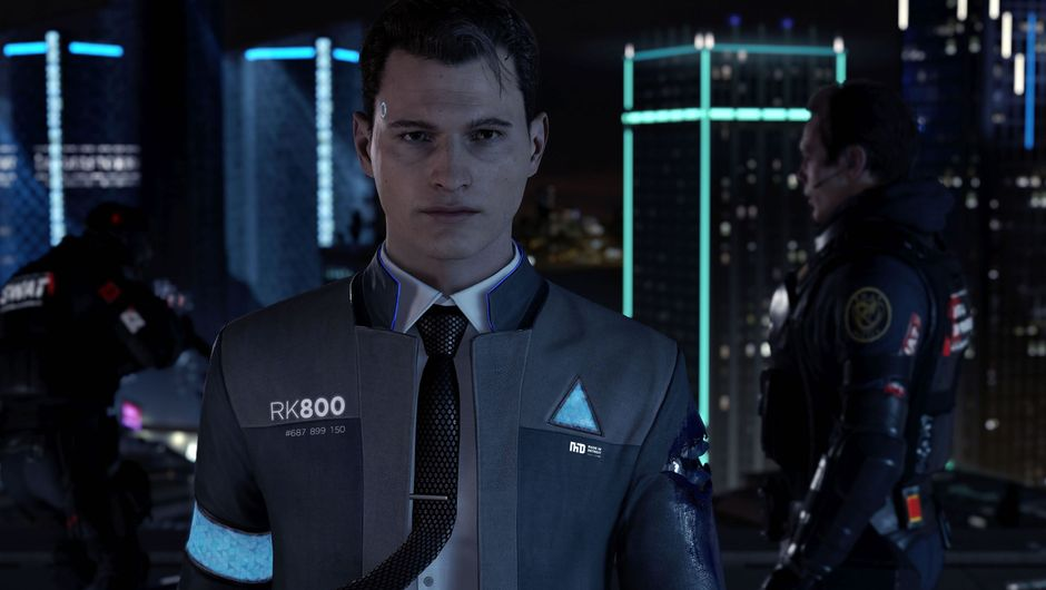 Android character from the game Detroit: Become Human