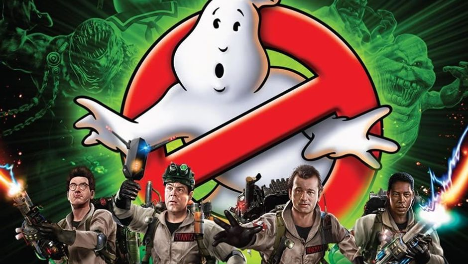 Ghostbusters: The Video Game cover showing the protagonists