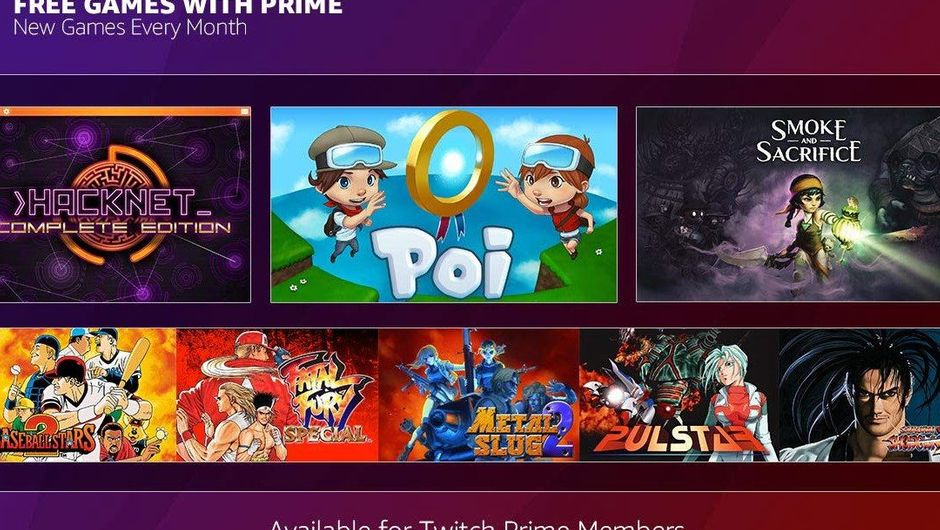 Picture of the December bundle for Twitch Prime subscribers