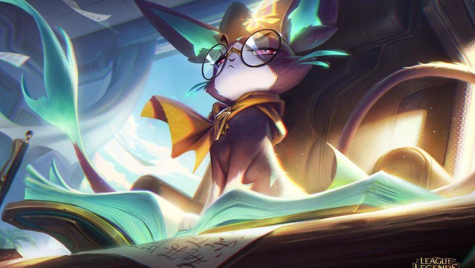 Splash art of Battle Principal Yuumi