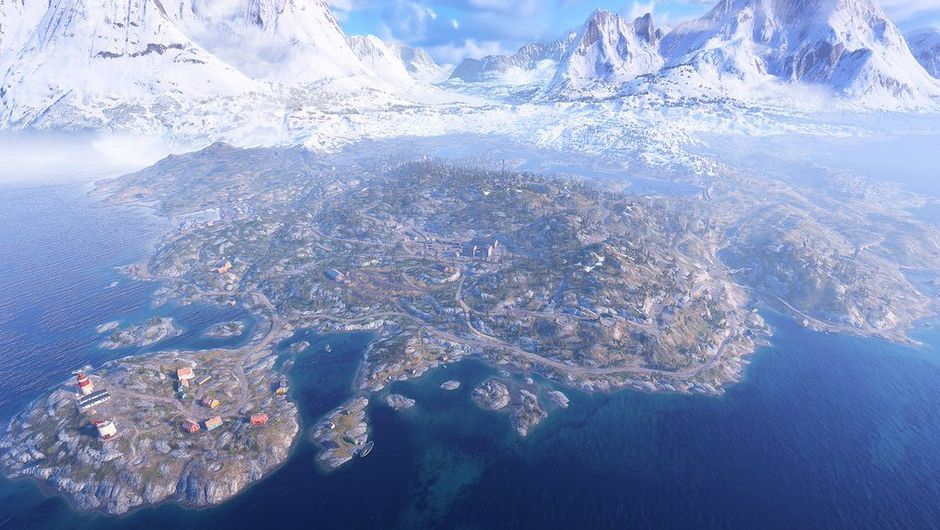 picture showing a map from Battlefield V