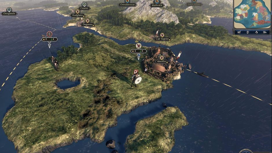 Screenshot from Total War Saga: Thrones of Britannia