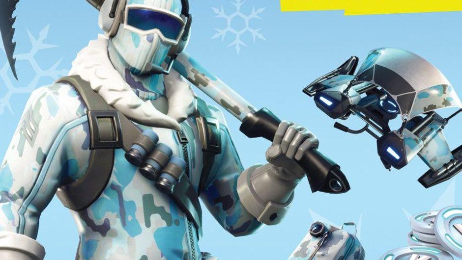 Promotional image for Fortnite's Deep Freeze bundle