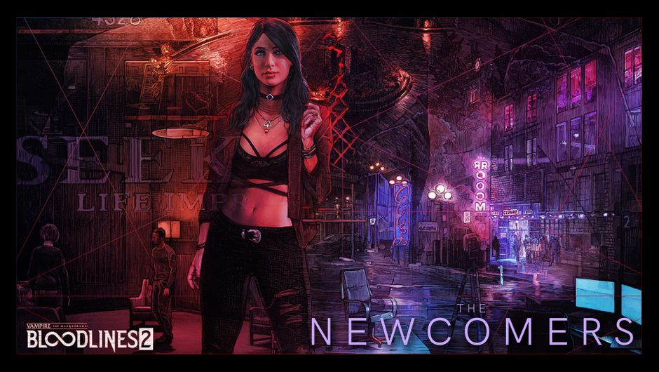 Vampire the Masquerade Bloodlines 2 - Elif of The Newcomers