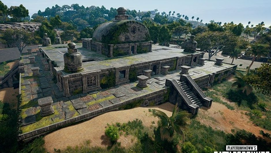 Screenshot of Sahnook map in PlayerUnknown's Battlegrounds