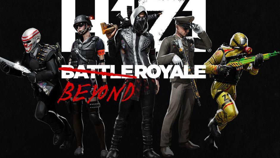 Promotional image for H1Z1 Battle Royale