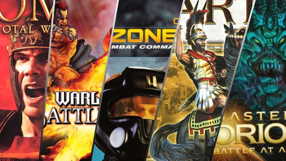 collage of box art for the best strategy games of all time
