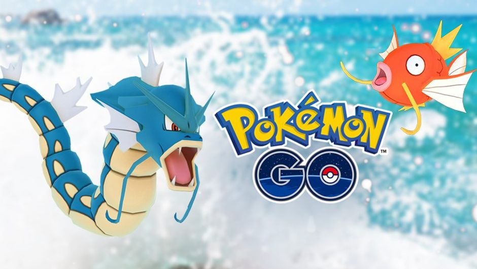 Promotional image for Pokemon GO Water Fest