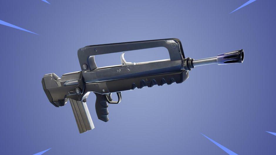 Fortnite: Battle Royale's newly added Burst Assault Rifle