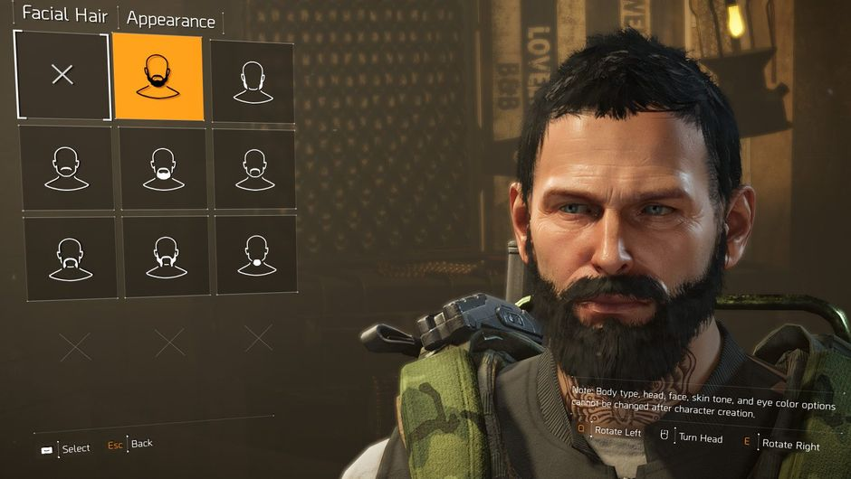 Picture of a male SHD agent in The Division 2