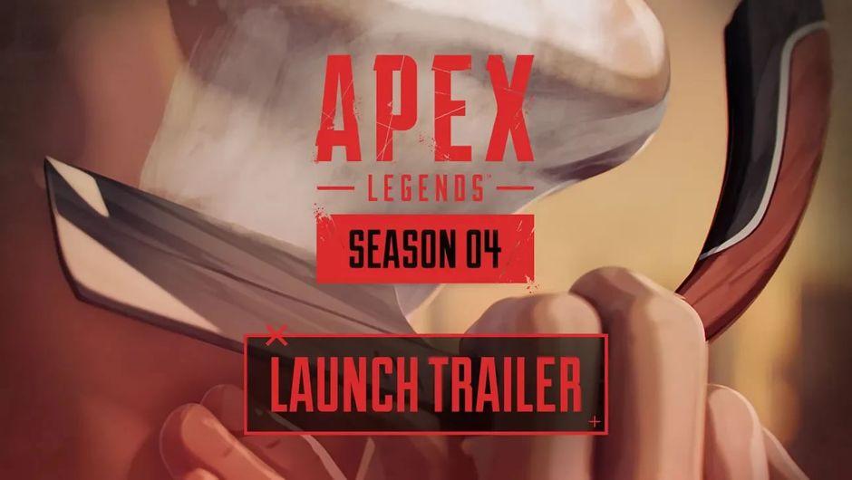 Closeup of a man shaving in Apex Legends poster