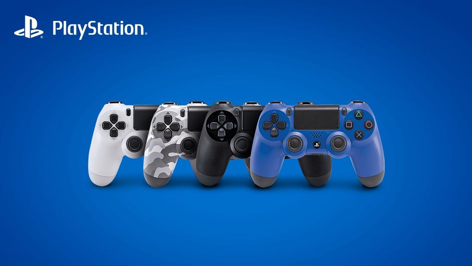 Sony's PlayStation 4 controllers