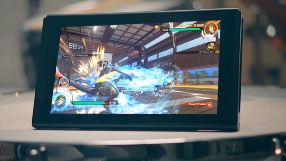 Pokken Tournament DX on the Switch