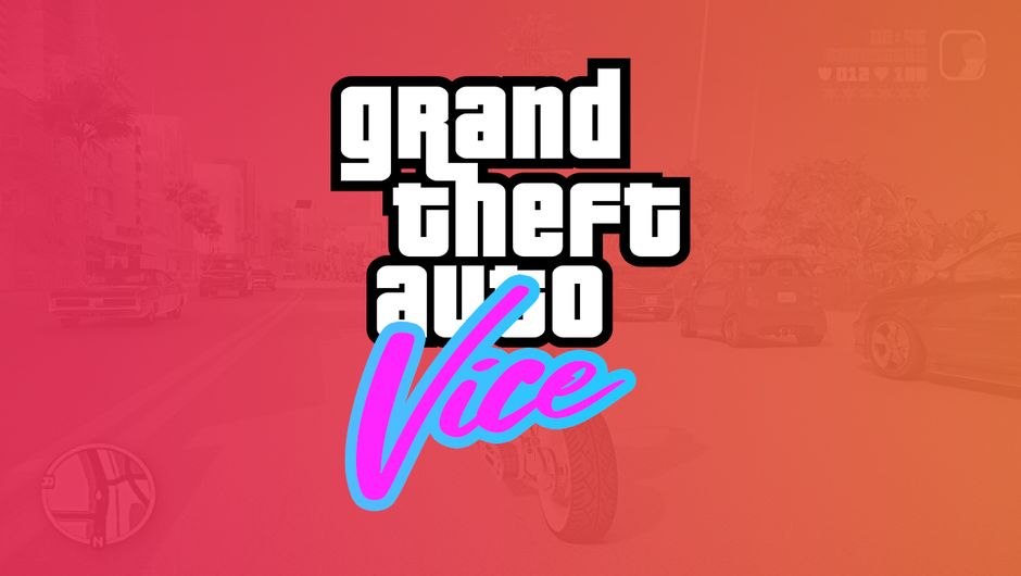 artwork showing GTA Vice logo by Altchar