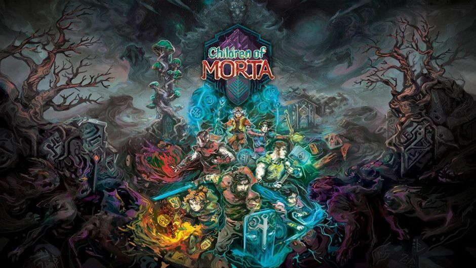 Promotional wallpaper for Children of Morta
