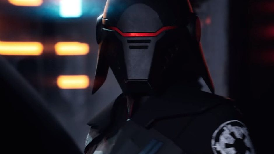 Picture of and inquisitor in Star Wars: Jedi Fallen Order