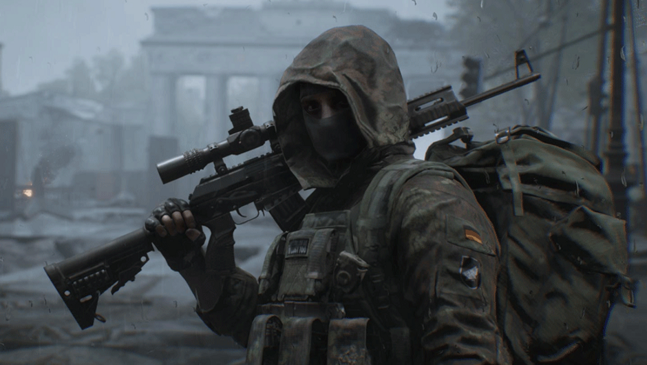 picture showing a german soldier in world war 3 game