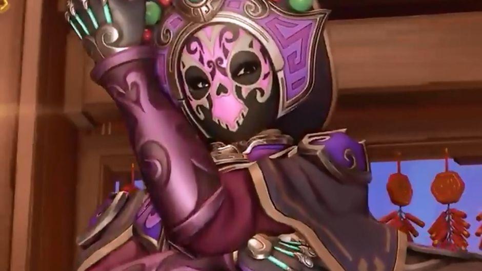 Overwatch - Face Changer Sombra Lunar New Year 2020 skin