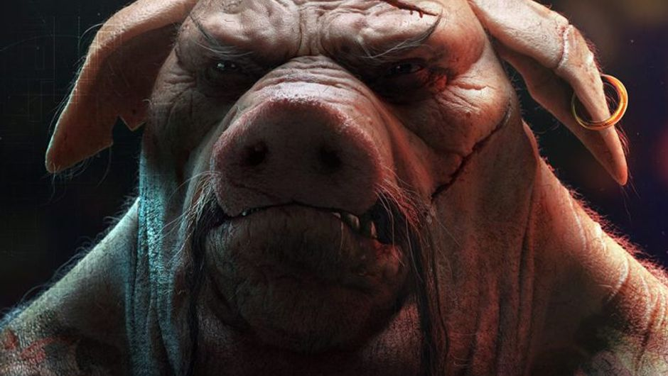 picture showing pig from beyond good and evil 2
