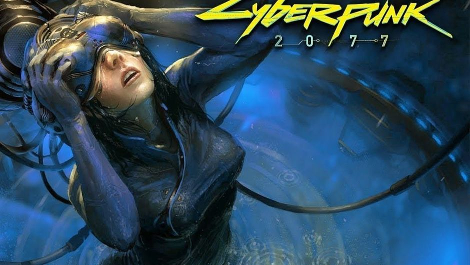Concept art of Cyberpunk 2077 possible Netrunner class