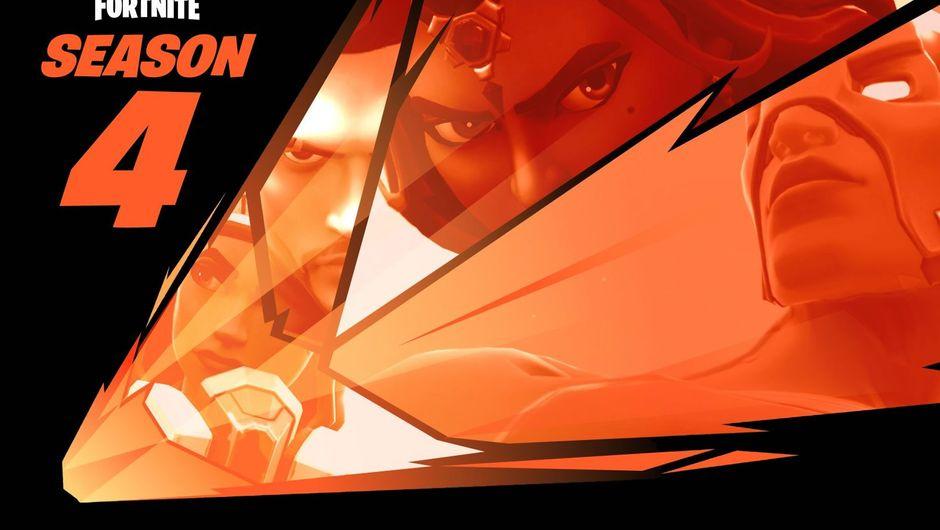 Epic's fourth teaser poster for Fortnite Battle Royale Season 4