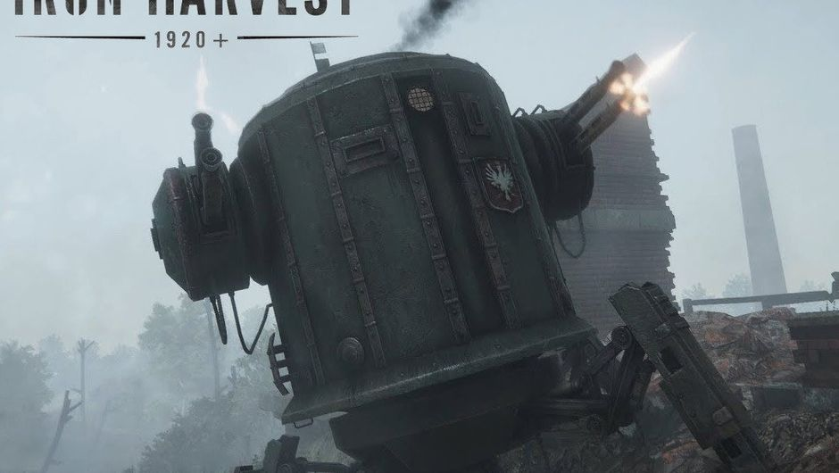 A giant steam operated tin can with legs and guns.