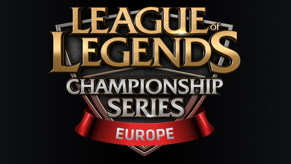 Image of the League of Legends Championship Series banner