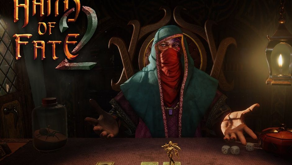 Hand of Fate 2 logo and dealer