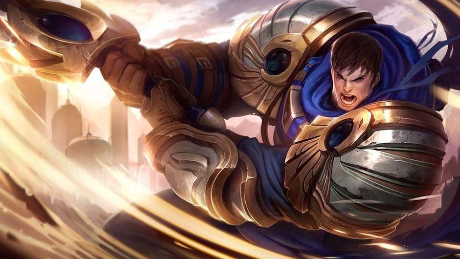 League of Legends - Garen splash art