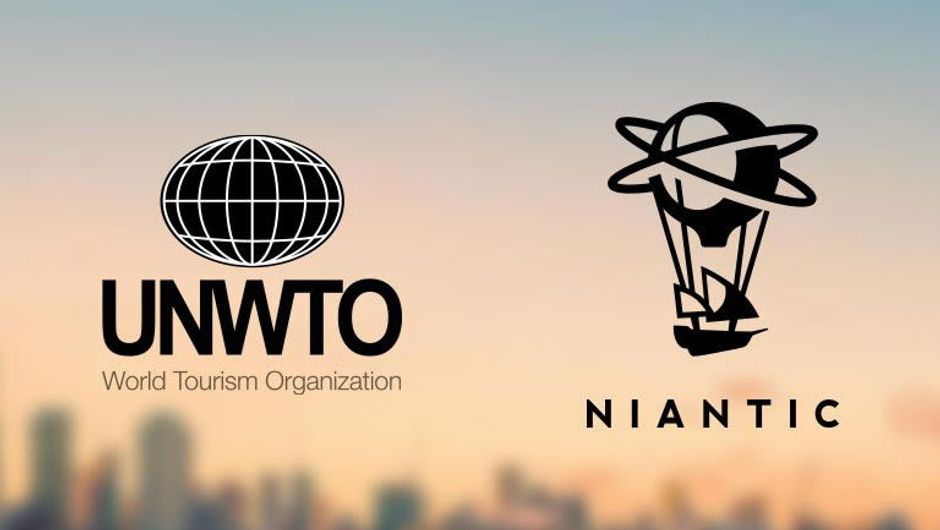 Niantic Labs and UNWTO logos