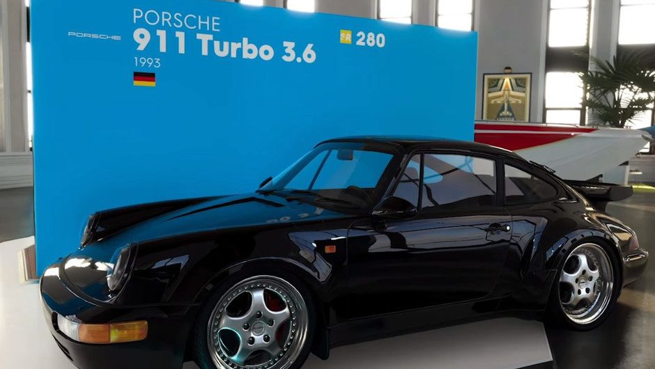 Image of a Porsche that will be added as a part of Season Pass in The Crew 2