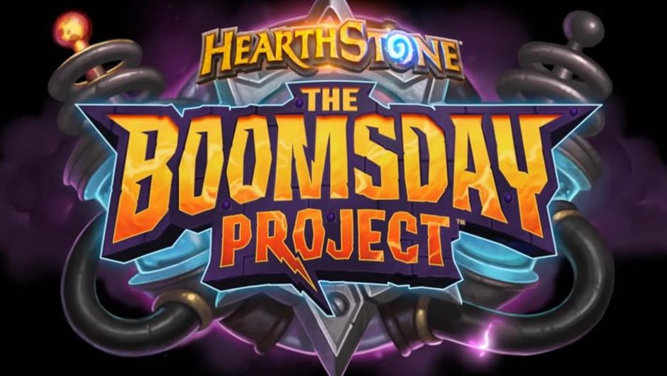 Logo for Hearthstone's upcoming expansion The Boomsday Project