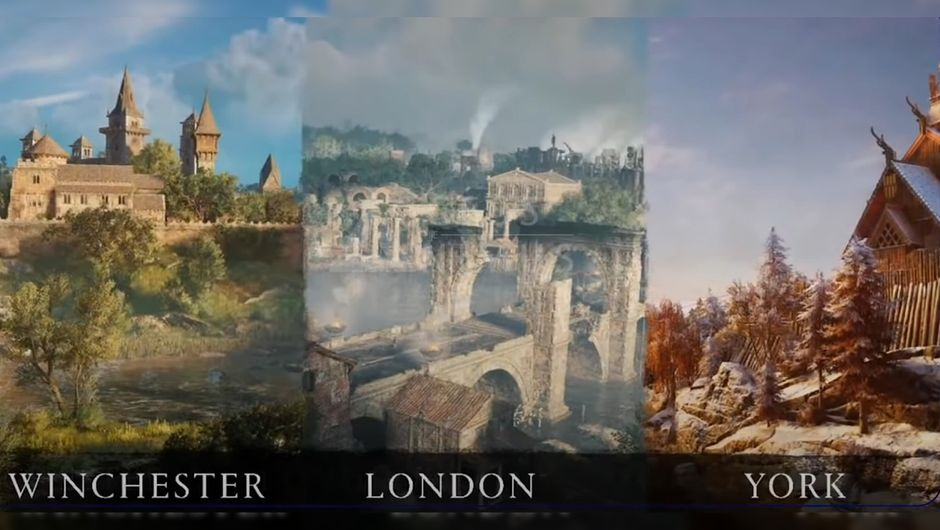 Assassin S Creed Valhalla First Look At London Winchester And York