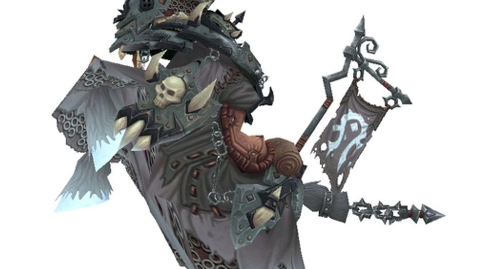 World of Warcraft - Vicious White Bonesteed