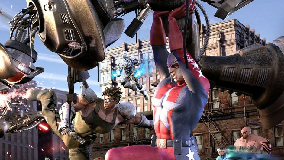 Picture of a superhero in City of Heroes