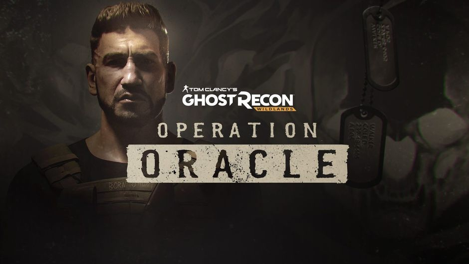 promo artwork of ghost recon wildlands showing a soldier