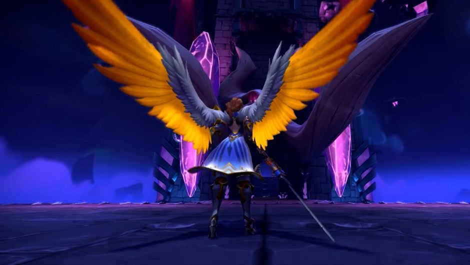 Picture of Furia the Angel of Vengeance, a champion in Paladins