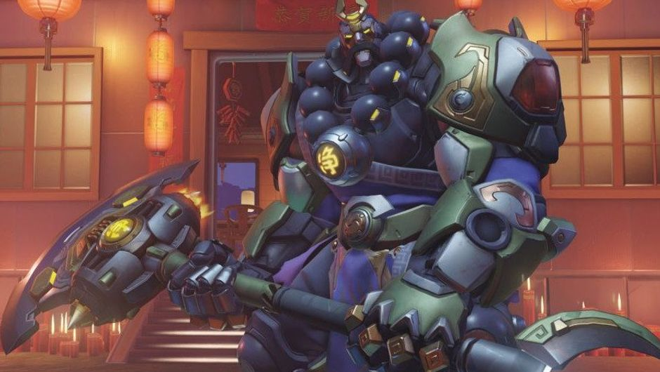 Picture of Wujing Reinhardt from Overwatch
