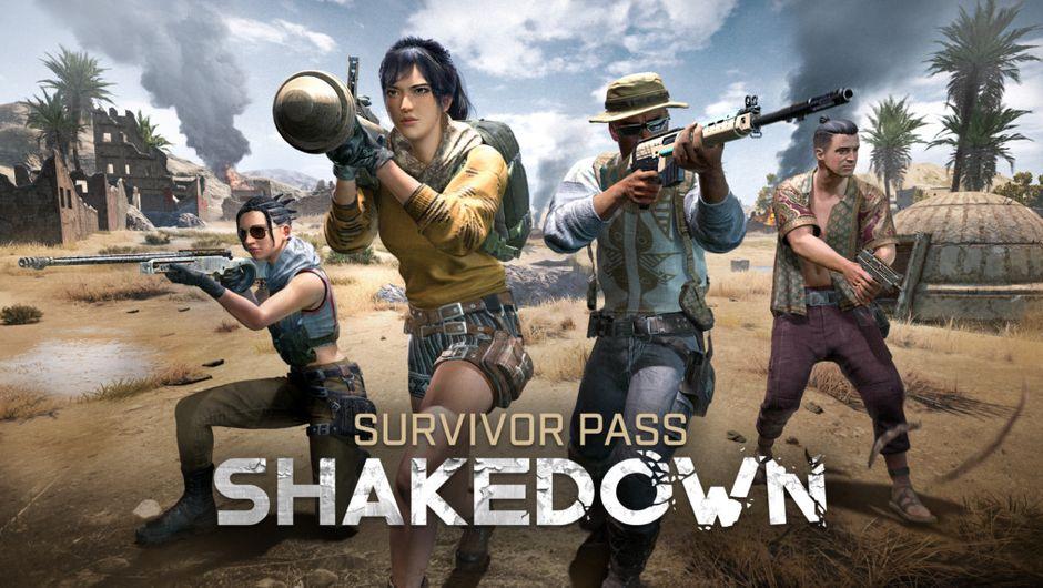 PUBG - Survivor Pass: Shakedown promo image