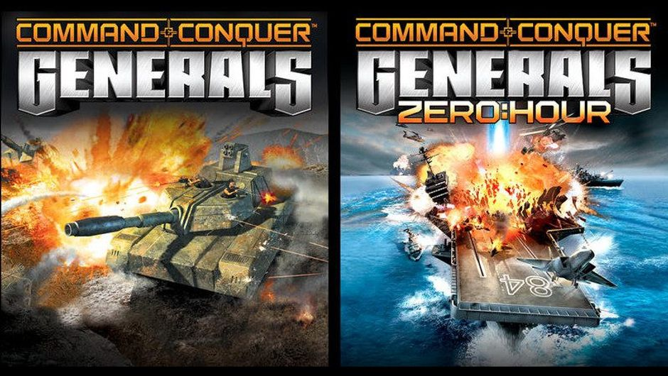 Picture of box art for Command & Conquer: Generals and Zero Hour expansion