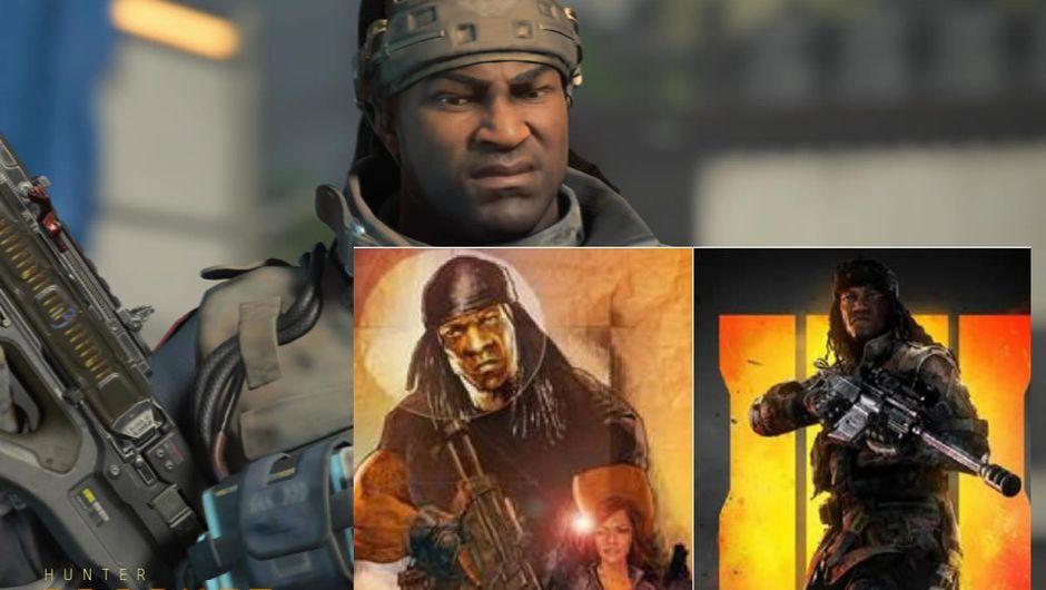 Booker T.'s GI Joe vs Call of Duty: Black Ops 4's Prophet
