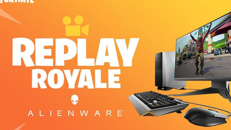 Promotional image for Fortnite Replay Royale competition