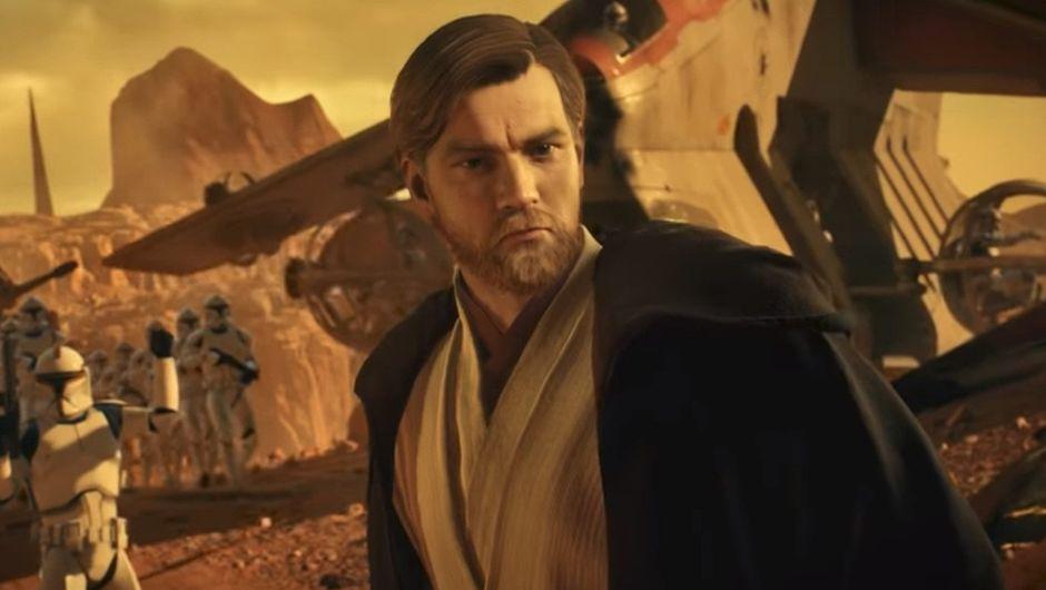 A picture of Obi Wan Kenobi Star Wars: Battlefront 2 trailer