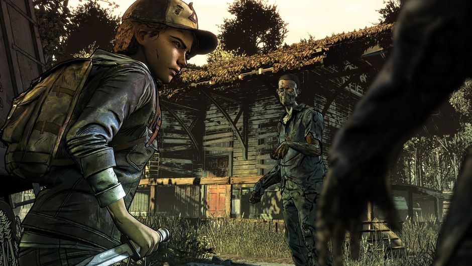 Screenshot from Telltale Games' The Walking Dead: The Final Season