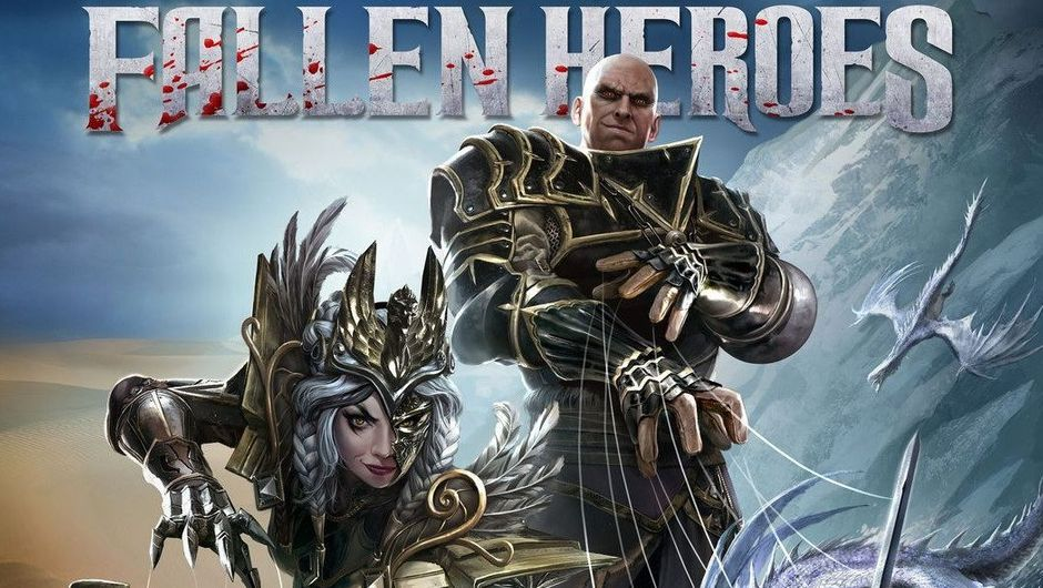 Picture of Malady and some dude in Divinity: Fallen Heroes