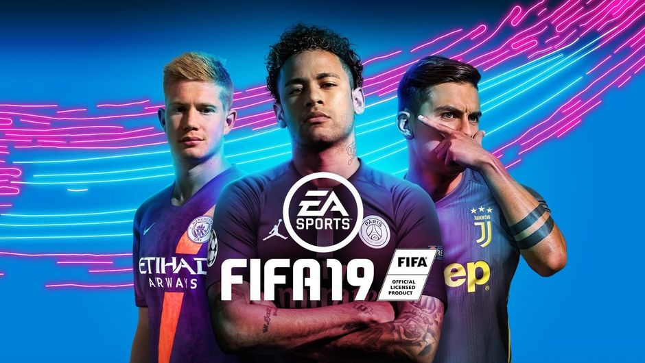 New cover for FIFA 19 with De Bruyne, Neymar and Dybala