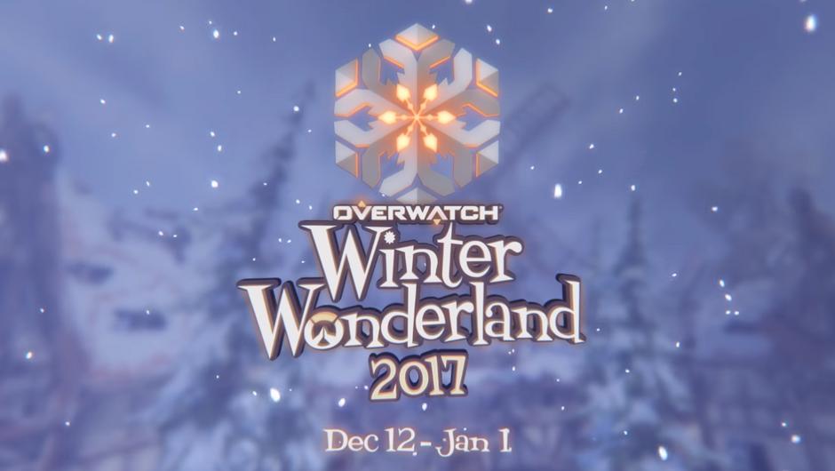 Overwatch Winter Wonderland 2017 event logo