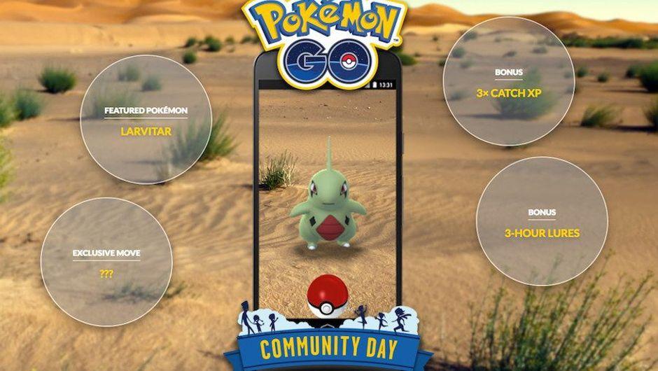 Image promoting Pokemon GO Community for June 2018
